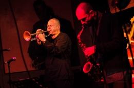 Piotr Wojtasik w klubie Blue Note